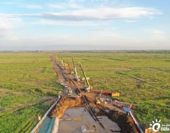 宁夏银川都市圈中线供水工程主干电缆首次成功钻越黄河