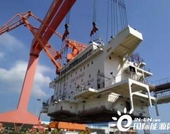 马尾造船一艘23500吨成品<em>油船</em>顺利完成主机吊装