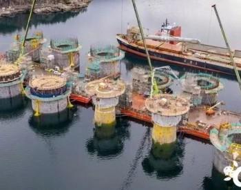 全球最大浮式风电场基础平台全部完工!