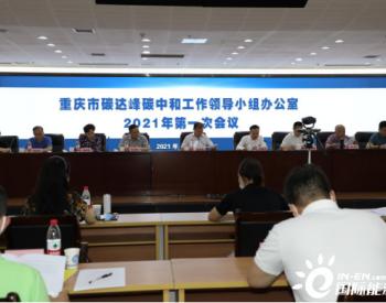 重庆市扎实推进碳达峰碳中和工作确保开好局起好步
