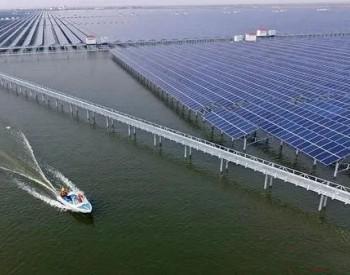 华能归湖100MW渔光互补光伏发电项目正式启动