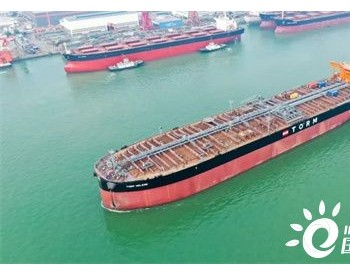 广船国际为TORM建造首艘11.4万吨<em>油船</em>启程试航