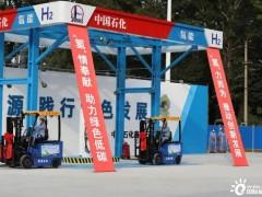 新氢动力配套,37台氢能叉车正式交付燕山石化