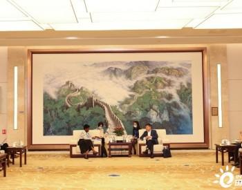 生态环境部部长黄润秋会见联合国《生物多样性公约》执行秘书