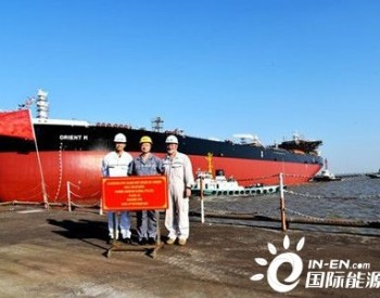 新时代造船两艘156500吨油船顺利下水