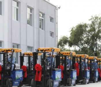 国产氢燃料电池叉车首次实现批量化商业应用