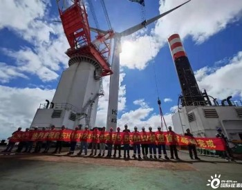 <em>上海电气</em>WG5.55F-172机组首吊成功!