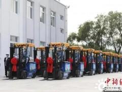 新氢动力携手杭叉集团,国产氢燃料电池叉车首次实