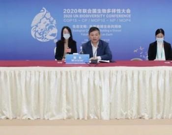生态环境部部长黄润秋出席《生物多样性公约》缔约方大会主席团会议