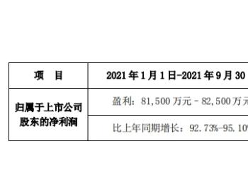 联泓新科前三季度净利润预增9成 股价跌近9%