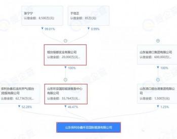 中油港燃:入股协鑫烟台西港LNG接收站