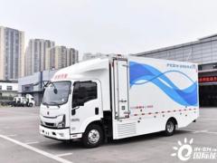 中国首次氢动力卡车干线物流示范运行圆满完成