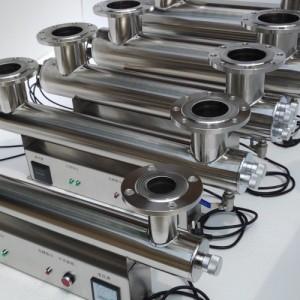 紫外线消毒器管道式杀菌器自来水养殖水处理