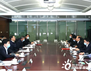国网辛保安与北京市市长陈吉宁会谈:加快建设世界