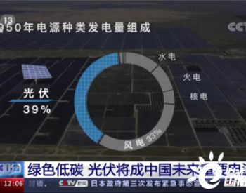 光伏将成为中国未来重要电源