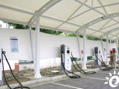 江苏苏州首个安置小区充电站建成投运