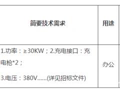 招标 | 北京联合大学新能源汽车充电桩项目公开招标公告
