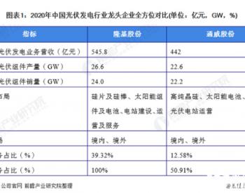 干货!2021年中国光伏发电行业龙头企业分析——隆基股份:组件出货保持行业领先、硅片产销增长