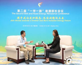 何继江:中国绿色能源发展力量为全球能源转型提供重要支持
