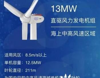 东方电气推13MW风机新品 海上大风机再升级