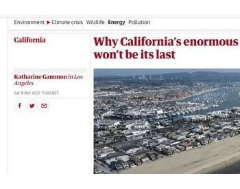 美国加州大规模原油泄漏事件罪魁祸首是新能源转型?