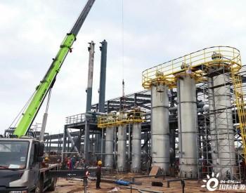 陕西省宝鸡大丰LNG储气调峰项目正在建设中
