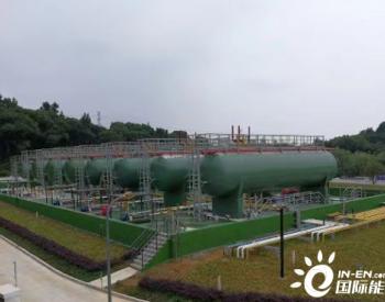浙江省杭州市首个花园式液化气储备站年底前将启用