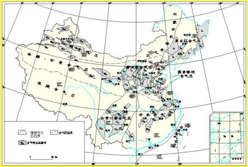 我国煤层气资源分布情况