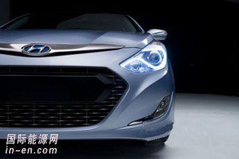 现代新索纳塔推混合动力版 纽约车展首发