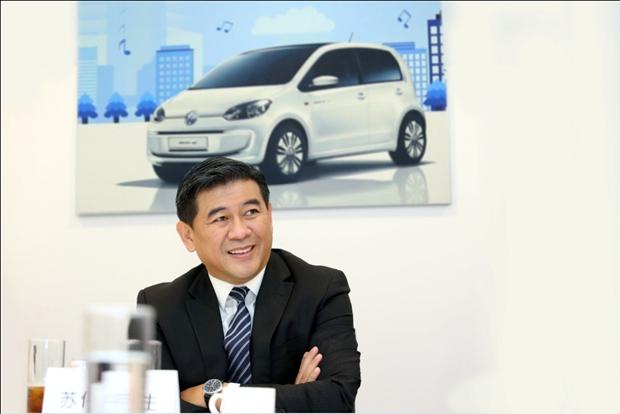 专访大众汽车集团(中国)董事兼执行副总裁——<em>苏伟</em>铭