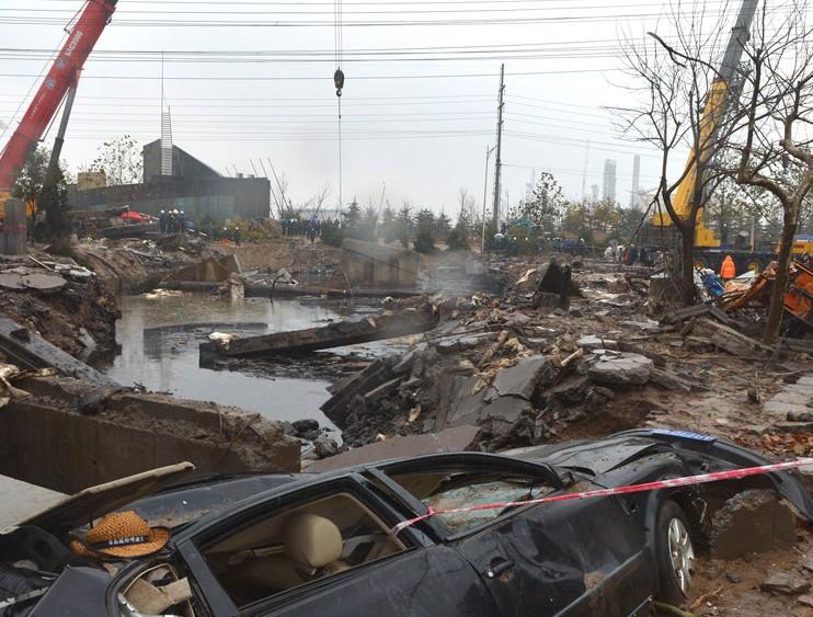 青岛<em>原油泄露</em>爆燃事故现住院伤员145人