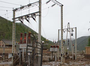 防灾减灾能力提升:甘肃岷县电力重建工程开工